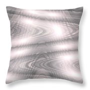 Moveonart Clearthoughtswaveform Throw Pillow