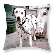 Moveonart Deardalmationfriend Throw Pillow