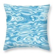 Moveonart Doppler Throw Pillow