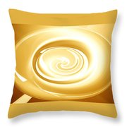 Moveonart Goingforgold Throw Pillow