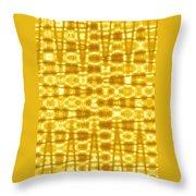 Moveonart Goldenblanket Throw Pillow