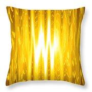 Moveonart Goldenopportunity Throw Pillow