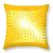 Moveonart Higherlightandwaves Throw Pillow