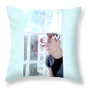 Moveonart Jacoblooking Throw Pillow