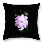 Moveonart Littleflowerforyou Throw Pillow