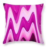 Moveonart Moodwaves Throw Pillow
