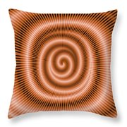 Moveonart Spiraldream Throw Pillow