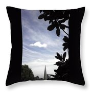 Moveonart Viewofpyramid Throw Pillow