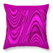 Moveonart Wavesforchange Throw Pillow