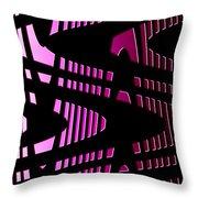 Moveonart Wavesfutureair Throw Pillow