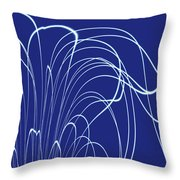 Moveonart Wearenotsurewhatitis Throw Pillow