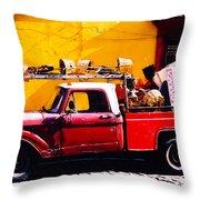 Moving Day Oaxaca Throw Pillow