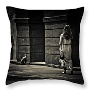 Moving On... Throw Pillow