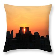 Moving Right Throw Pillow