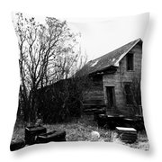 Mr. Be Throw Pillow