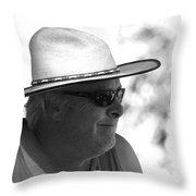 Mr. Joie De Vivre Throw Pillow
