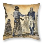 Mr President We Need To Talk Throw Pillow