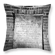 Mr William Breeds Throw Pillow