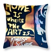 Ms. Marilyn Throw Pillow