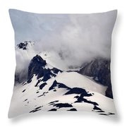 Mt. Hood Throw Pillow by Matt Hanson