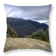 Mt Manfield Vermont 20 Throw Pillow