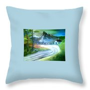 Mt. Of Hope Throw Pillow