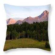 Mt. Sneffles Throw Pillow