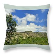 Mt St Helens 2 Throw Pillow
