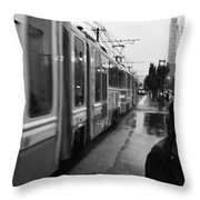 Mtba Commuter Throw Pillow