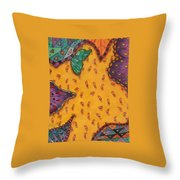 Muchas Frijoles  Throw Pillow