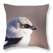 Mug Shot Of The Bandit Throw Pillow