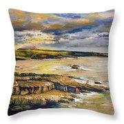Mullaghmore County Sligo Throw Pillow