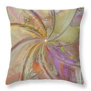 Multi Colored Pinwheel Throw Pillow