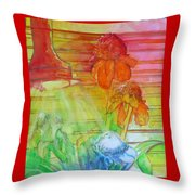 Multicolor Gingers Throw Pillow