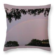 Multicoloured Arc Throw Pillow