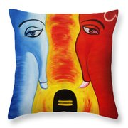 Mundakarama Throw Pillow