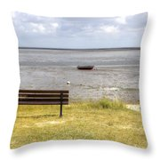 Munkmarsch - Sylt Throw Pillow by Joana Kruse