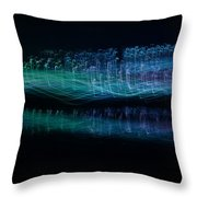 Munro River Reflections 1 Throw Pillow
