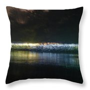 Munro River Reflections 2 Throw Pillow