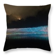 Munro River Reflections 3 Throw Pillow