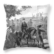 Munsons Hill, 1861 Throw Pillow