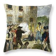 Murder Of Joseph Smith Throw Pillow