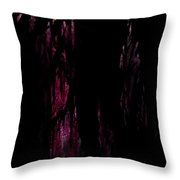 Murdered Throw Pillow
