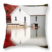 Murray's Mill Catawba North Carolina Throw Pillow