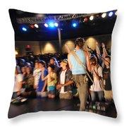Museum-4297 Throw Pillow