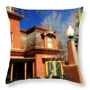 Museum In Silver City Nm Throw Pillow