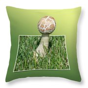 Mushroom 02 Throw Pillow