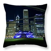 Music In The City Throw Pillow