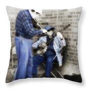 Musicians 2 Throw Pillow