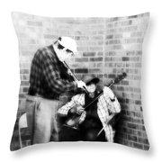 Musicians 4 Throw Pillow